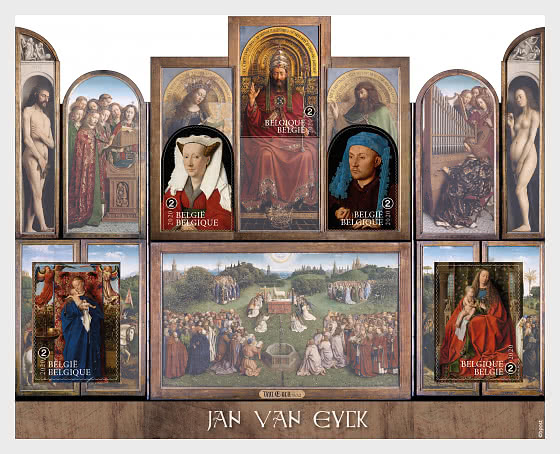 Jan Van Eyck 2020 - Hojas Bloque