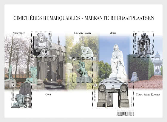 Striking Cemeteries - Miniature Sheet