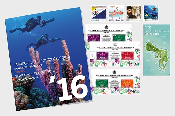 Bonaire Year Pack 2016 - Year Collections