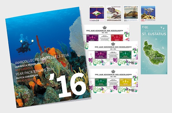 St. Eustatius Year Pack 2016 - Year Collections