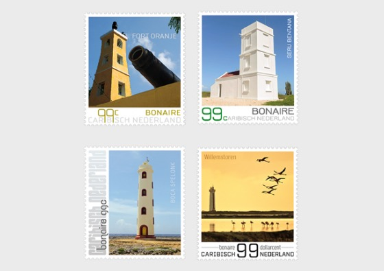 Lighthouses of Bonaire - Set