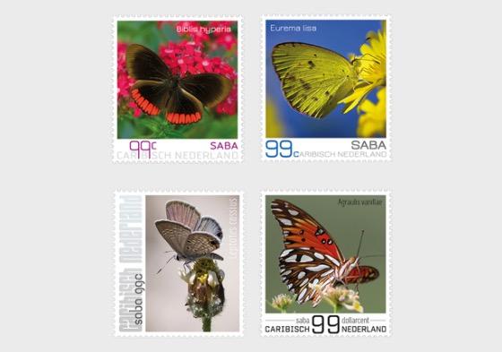 Butterflies of Saba - Set