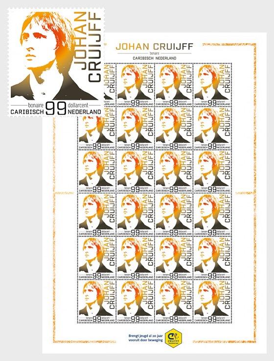 Johan Cruijff- (Bonaire) - Sheetlets