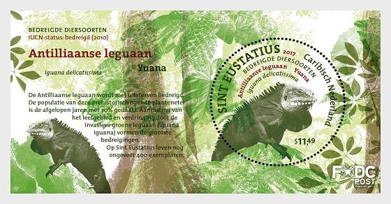 Endangered Species - Reptile of St. Eustatius - Sheetlets