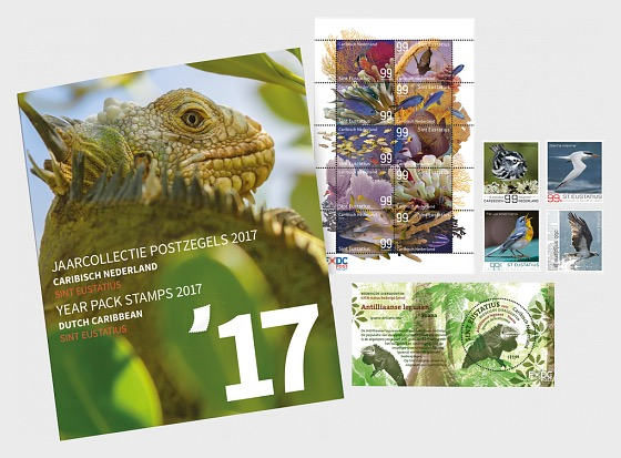 St. Eustatius Year Pack 2017 - Year Collections