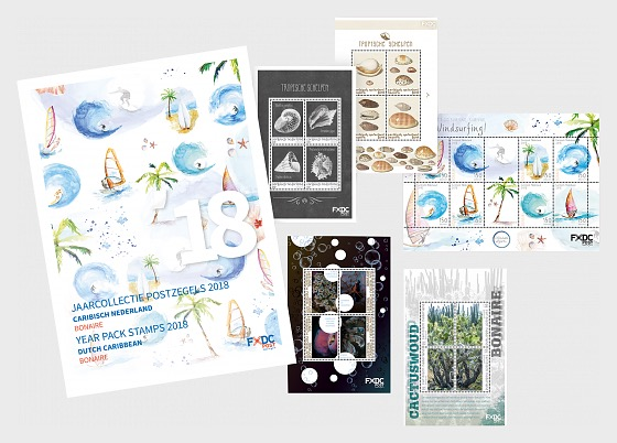 Bonaire Year Pack 2018 - Year Collections