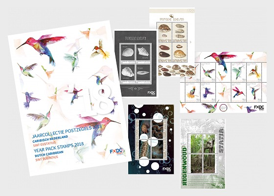 St. Eustatius Year Pack 2018 - Year Collections