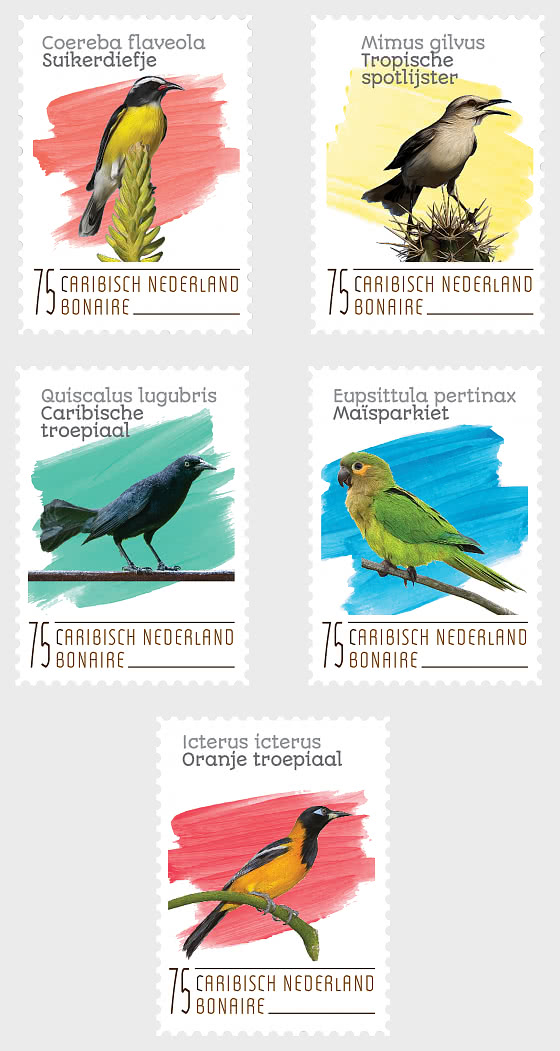 Birds ( Bonaire ) - Set