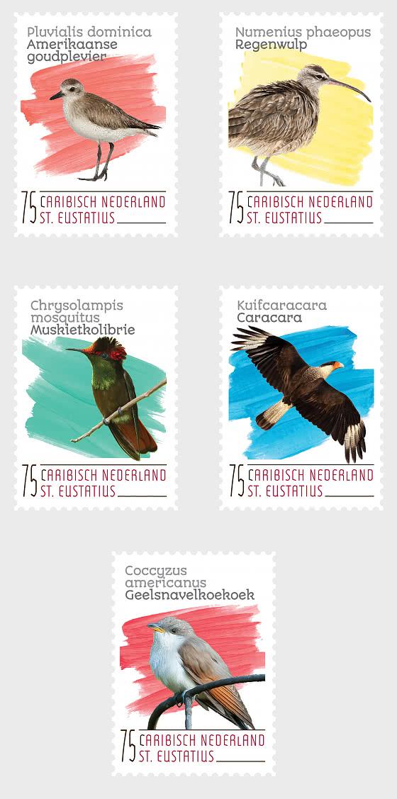 Birds (St. Eustatius) - Set