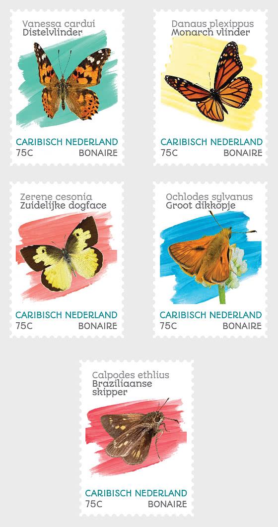 Butterflies (Bonaire) - Set