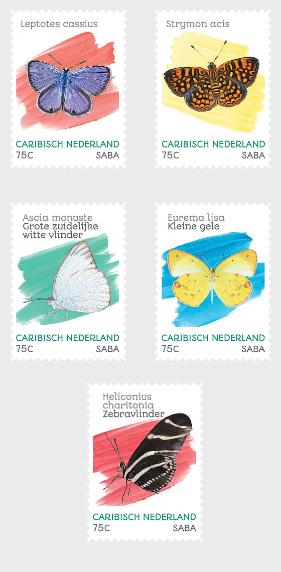 Butterflies (Saba) - Set