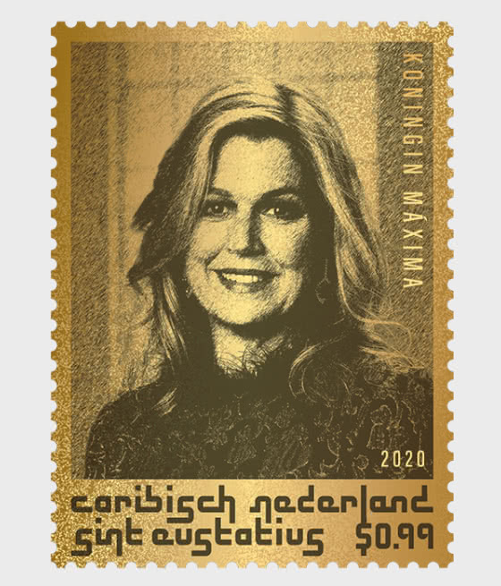 St. Eustatius - Queen Maxima - Collectibles