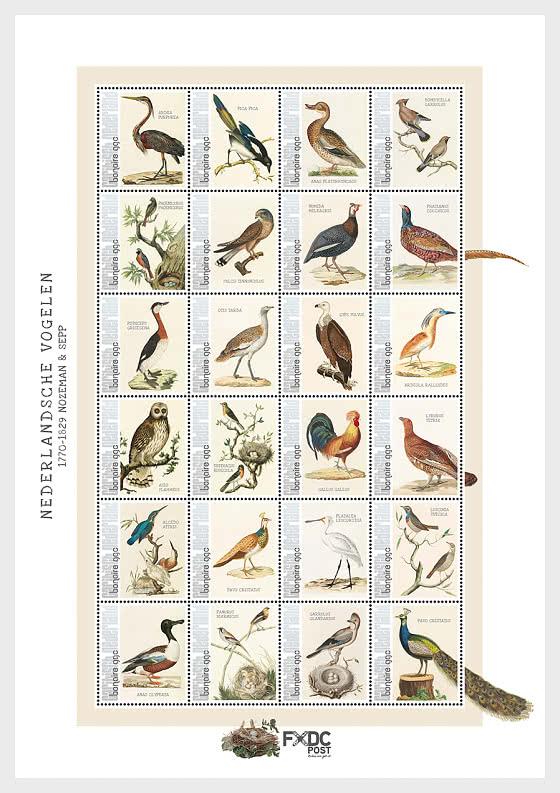 Birds 2021 (Bonaire) - Miniature Sheet