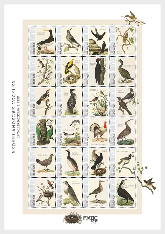 Birds 2021 (Saba) - Miniature Sheet