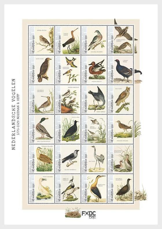 Birds 2021 (St. Eustatius) - Miniature Sheet