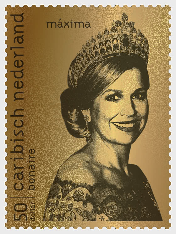 Bonaire - Gold Stamp Maxima - Collectibles