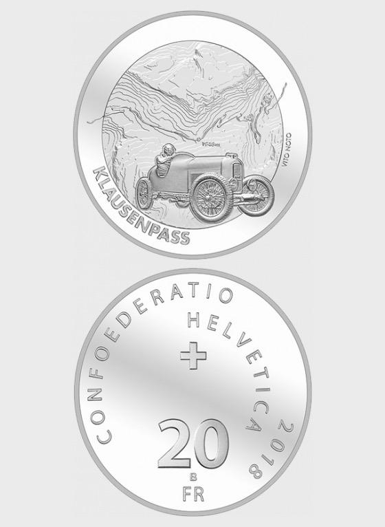 Klausen Pass, AG uncirculated - Single Coin