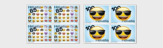 Emoji - (Block of 4 Mint) - Block of 4