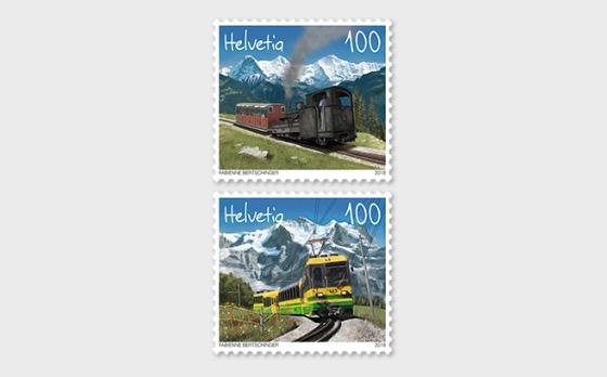 125 Years Schynige Platte Railway and Wengernalp Railway - (Set Mint) - Set