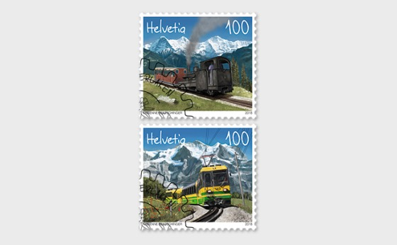 125 Years Schynige Platte Railway and Wengernalp Railway - (Set CTO) - Set CTO