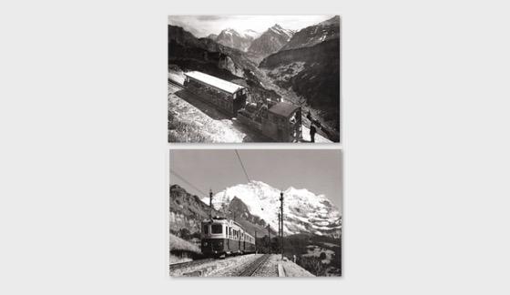 125 Years Schynige Platte Railway and Wengernalp Railway - Postcard