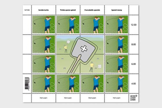 Hornussen - (Sheet Mint) - Full sheets