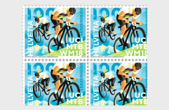 UCI MTB World Championships 2018 - (Sheet Mint) - Full sheets