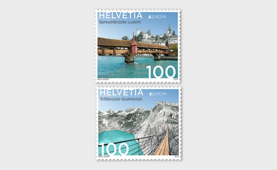Europa 2018 - Bridges - (Set Mint) - Set