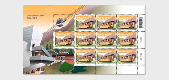 125 Years Stanserhorn Railway - (Sheetlet Mint) - Sheetlets
