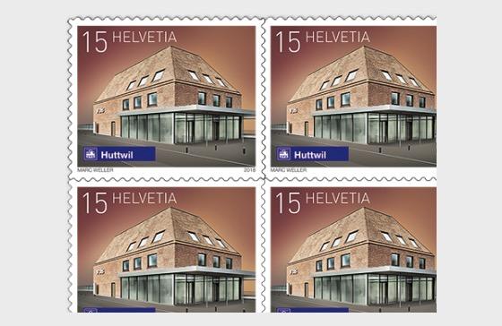 2018 Swiss Railway Stations - (Sheetlet Mint - Huttwil) - Sheetlets