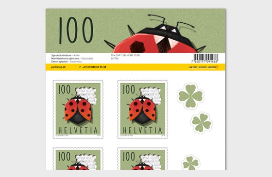 Special Events - (Sheetlet Mint - Ladybird) - Sheetlets
