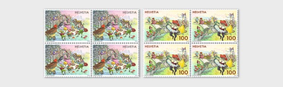 Fairy Tales - (Block of 4 Mint) - Block of 4