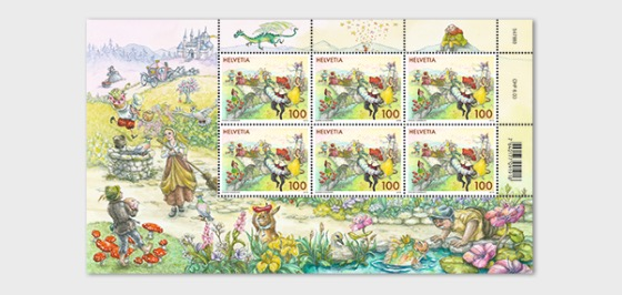 Fairy Tales - (Sheet Mint - Meadow) - Full sheets