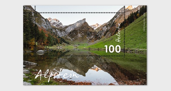 Typical Swiss Countryside - Alpstein - (M/S Mint) - Miniature Sheet