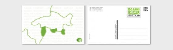 100 Years Pro Grigioni Italiano - (Postcard Mint) - Postcard