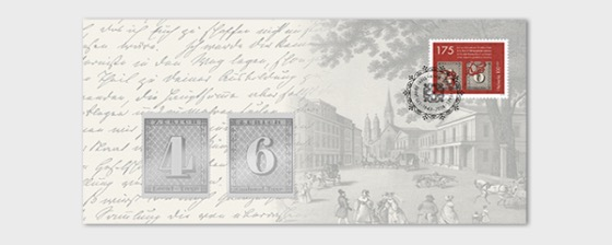 Anniversary Envelope with Silver Commemorative Stamp Tokens - First Day Cover