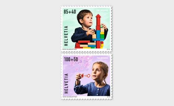 Pro Juventute - Happy Childhood - (Set Mint) - Set