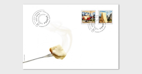 Fondue - (FDC Set) - First Day Cover