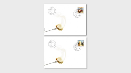 Fondue - (FDC Single Stamp) - First Day Cover single stamp