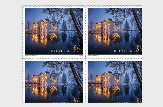 Christmas 2018 - (Castle Sheetlet Mint) - Sheetlets