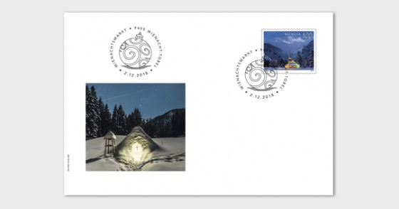 Christmas 2018 - (Special Cover C6 Church) - Collectibles