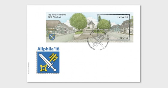 Stamp Day 2018 Allschwil - (Official USPS Item) - Collectibles