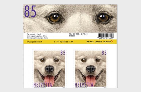 Animal Friends - Dog Sheetlet 10 Stamps Mint - Sheetlets