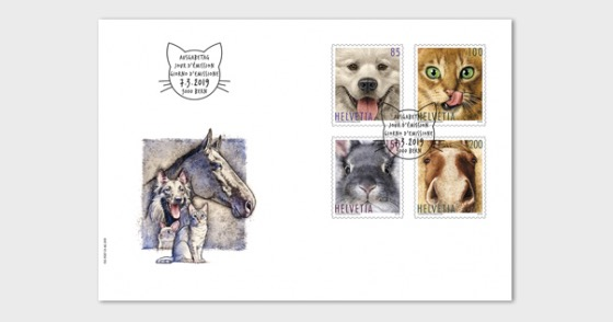 Animal Friends - FDC Set - First Day Cover