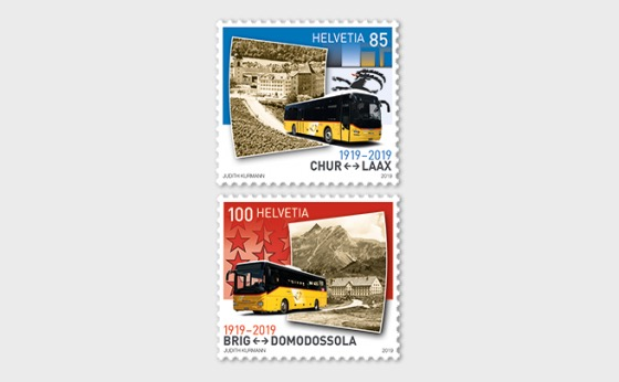 100 Years Postbus Routes - Set Mint - Set