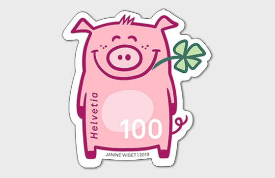 Lucky Pig - Mint - Set