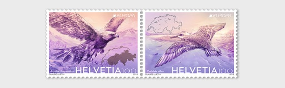 Europa 2019 - Birds - Set Mint - Set