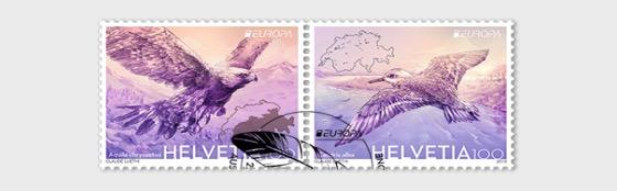 Europa 2019 - Vögel - Serie CTO