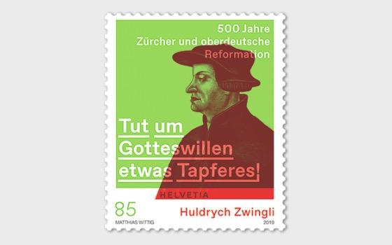 Huldrych Zwingli − 500 Ans de la Réforme à Zurich et en Haute-Allemagne - Séries