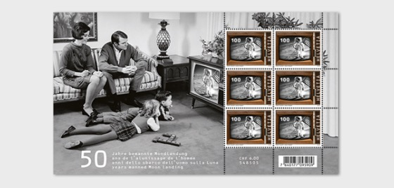 50 Years Manned Moon Landing - Sheetlet Mint - Sheetlets